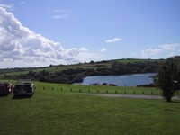 View over Llys y Fran reservoir (click for larger image)